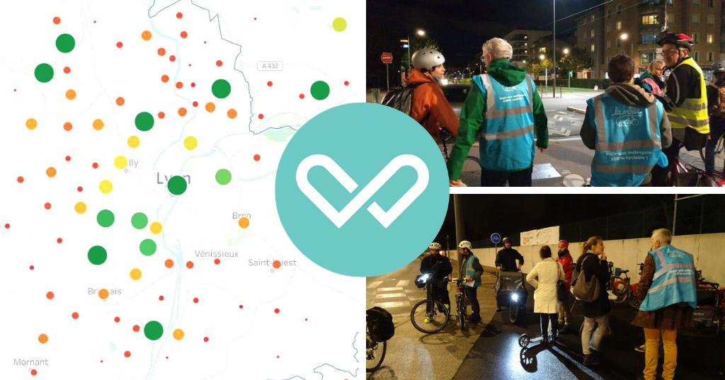 baromètre vélo lyon et métropole