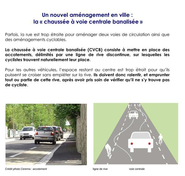 Projet double sens cyclable entre l'av. du Maréchal de Saxe et le bd Marius Vivier Merle