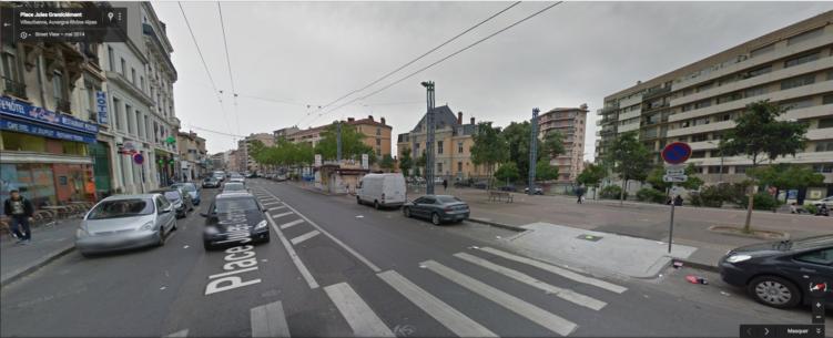 Réaménagement de la Place Grandclément Villeurbanne: concertation du 3 octobre au 10 novembre 2016