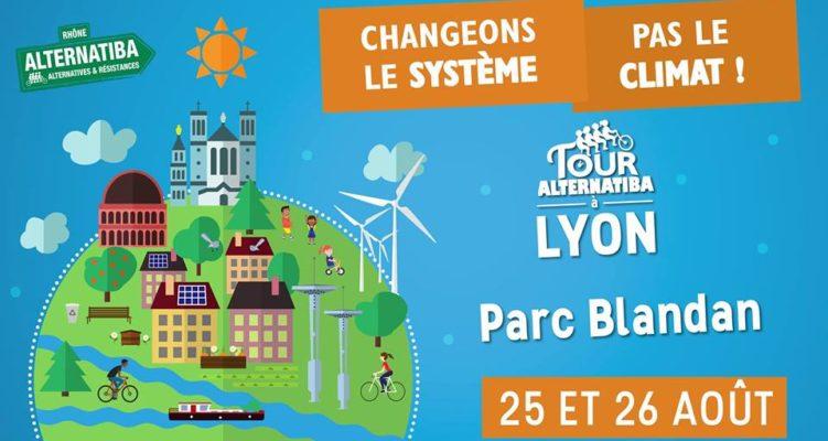 La Ville à Vélo participe au Tour Alternatiba à Lyon les 25 et 26 Août
