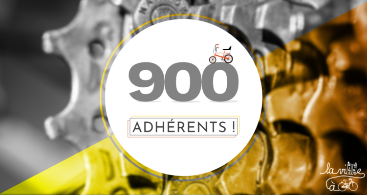En route vers les 1000 adhérents !
