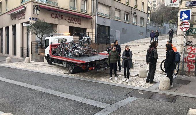 Communiqué : Enlèvement abusif de vélos bien stationnés : La Ville à Vélo demande une procédure claire et légale