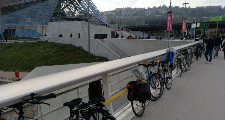 Du stationnement pour les cyclistes !