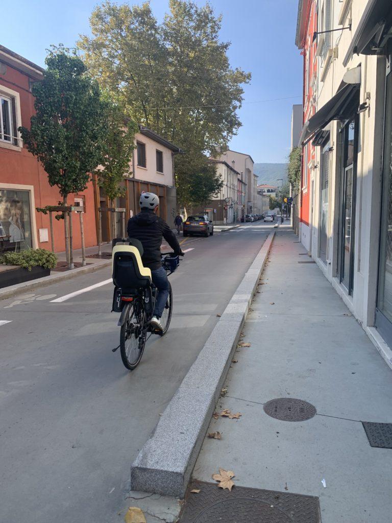 Vélo à Fontaines-sur-Saône