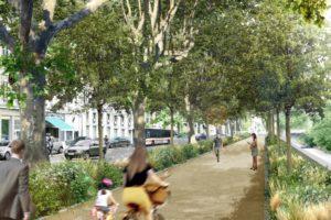 14 novembre 2018 : Réunion de concertation sur le projet du Cours d'Herbouville