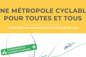 """[Communiqué de presse] Municipales 2020 : un Plan vélo citoyen pour """"Une métropole cyclable pour toutes et tous"""""""