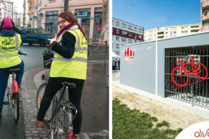 Présentation du programme  ALVEOLE : réalisation de locaux vélo sécurité et bien plus