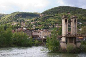 Courrier: Pont de Couzon