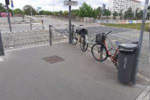 Propositions de LVV - Lyon 8ème : Liste des sites pour l'implantation d'arceaux vélo