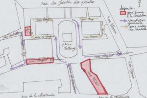 Courrier : Projet d'aménagement et de végétalisation des abords de la place Sathonay