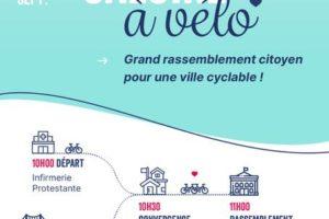 J'M Caluire à vélo: grand rassemblement citoyen pour une ville cyclable