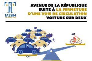 Echange de courriels entre Tassin à Vélo et la Ville de Tassin-la-demie-lune