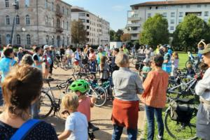 Retour sur l'événement J'M Caluire à vélo, un grand rassemblement citoyen pour une ville cyclable!